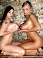 Preview Image #15 featuring Ines Cudna and Linsey Dawn McKenzie in Set #0016 from BustyInesCudna.com