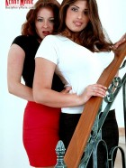 Preview Image #01 featuring Kerry Marie and Lorna Morgan in Set #0010 from BustyKerryMarie.com